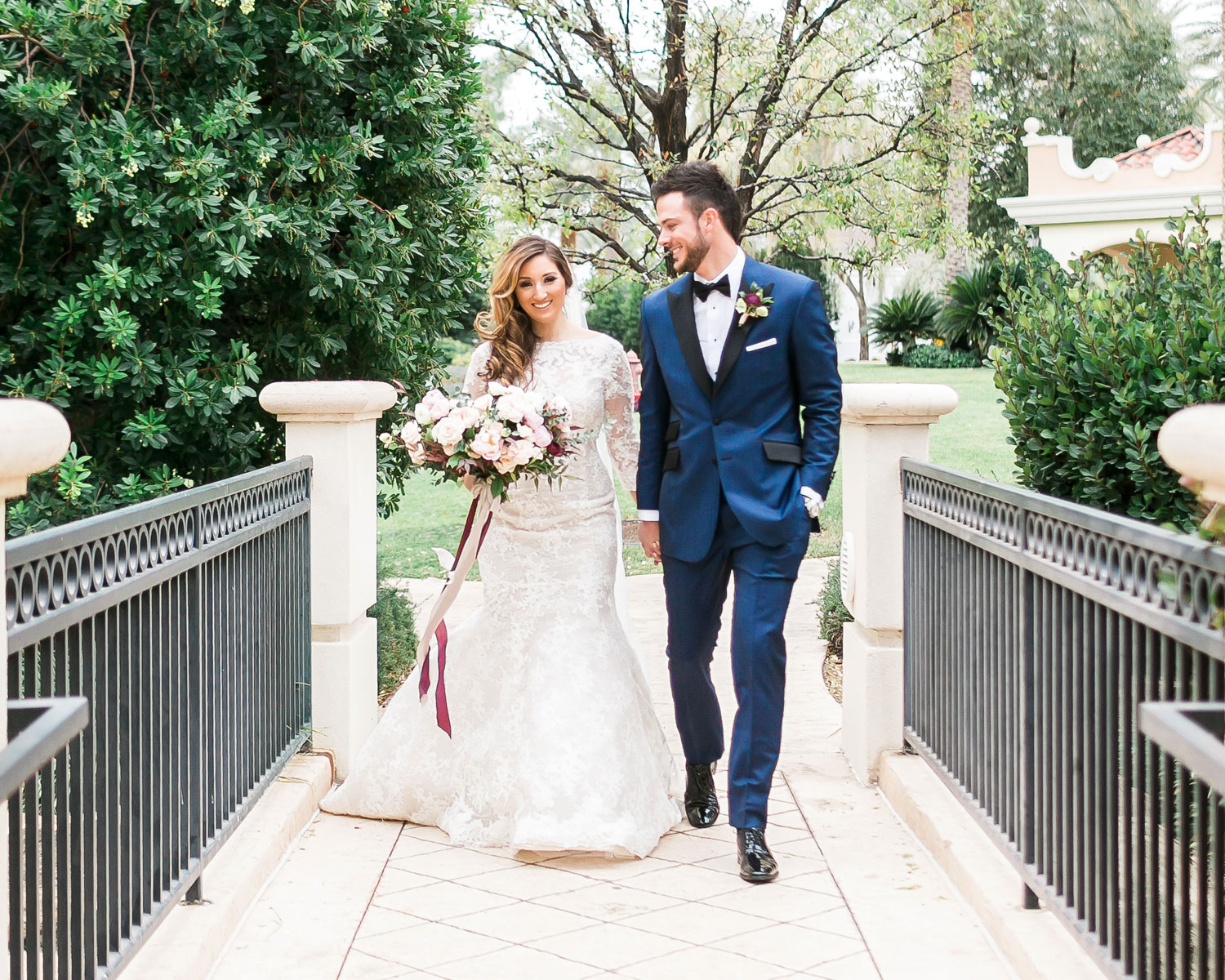 Kris Bryant and Jessica Delp wedding, January 2017 in  Las Vegas. (Credit: Jodi Anne / J. Anne Photography)