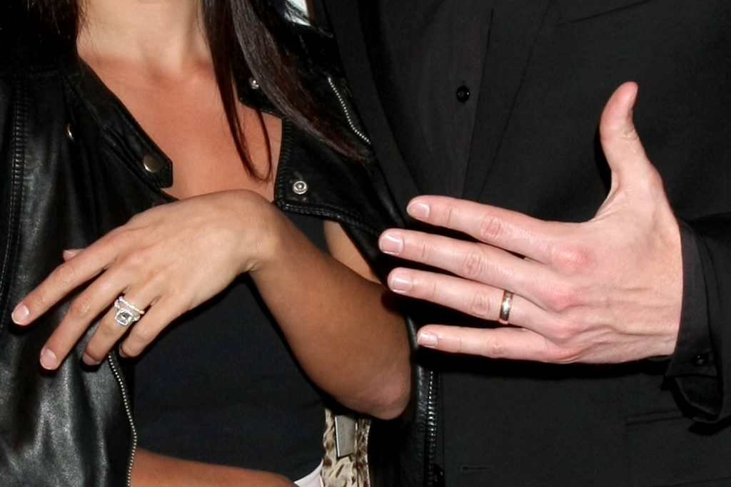 Sean Lowe and Catherine Giudici Wedding Bands