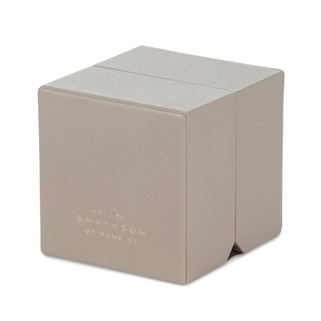fifty shades christian grey used a ring box to propose photo courtesy of smythson