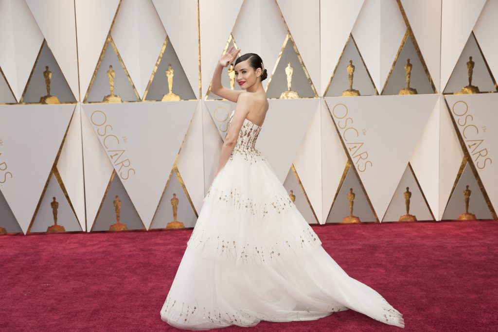 THE OSCARS(r) - The 89th Oscars(r) broadcasts live on Oscar(r) SUNDAY, FEBRUARY 26, 2017, on the ABC Television Network. (ABC/Tyler Golden) SOFIA CARSON
