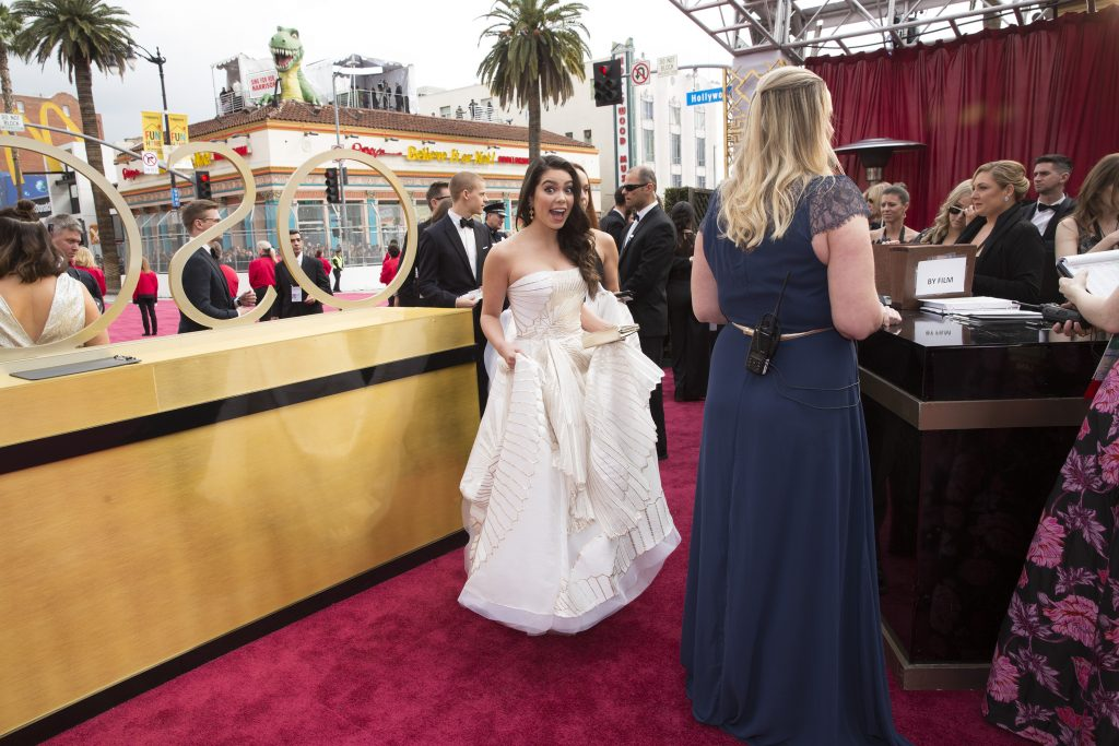 THE OSCARS(r) - The 89th Oscars(r) broadcasts live on Oscar(r) SUNDAY, FEBRUARY 26, 2017, on the ABC Television Network. (ABC/Greg Gayne) AULI'I CRAVALHO