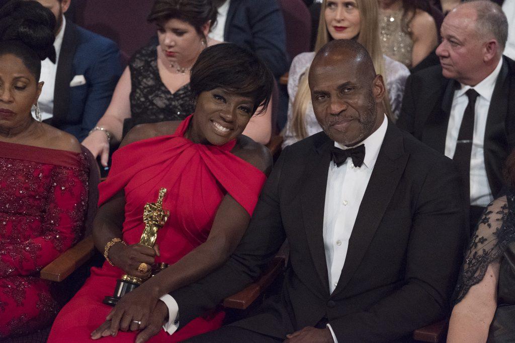 THE OSCARS(r) - The 89th Oscars(r) broadcasts live on Oscar(r) SUNDAY, FEBRUARY 26, 2017, on the ABC Television Network. (ABC/Adam Rose) VIOLA DAVIS, JULIUS TENNON