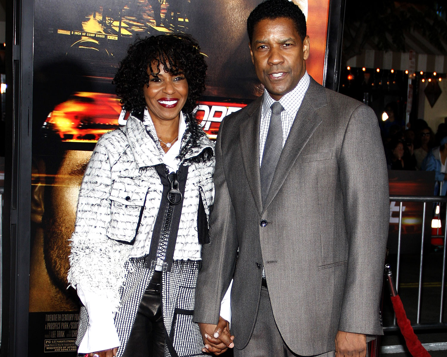 Denzel Washington - Karısı Pauletta Washington