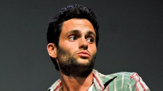 """NEW YORK, NY - APRIL 25:  Actor Penn Badgley attends Meet the Filmmaker: """"Greetings from Tim Buckley"""" during the 2013 Tribeca Film Festival at the Apple Store Soho on April 25, 2013 in New York City.  (Photo by Daniel Zuchnik/FilmMagic)"""