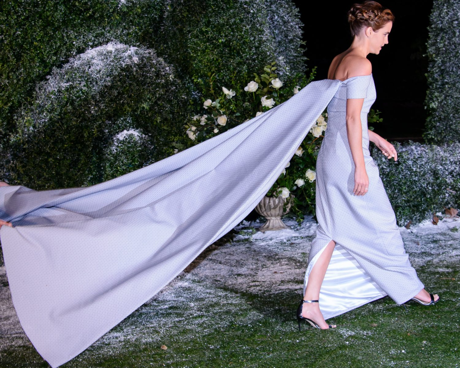 Emma Watson Was A Modern Day Princess At Beauty And The