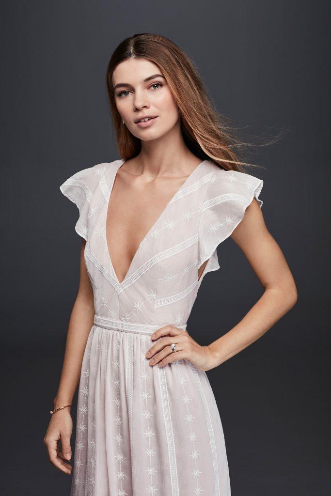 Lauren Bushnell Engagement Dress