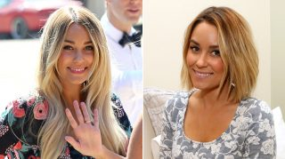 Lauren Conrad wedding haircut short hair