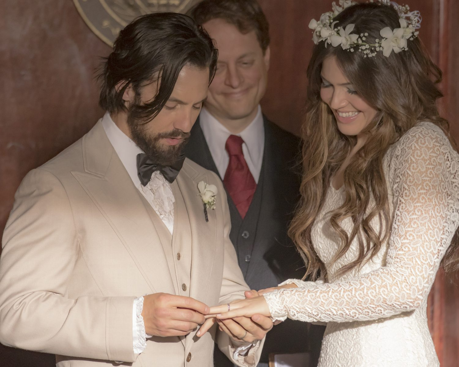 Mandy Moore Inspired By Her 'This Is Us' Wedding Dress