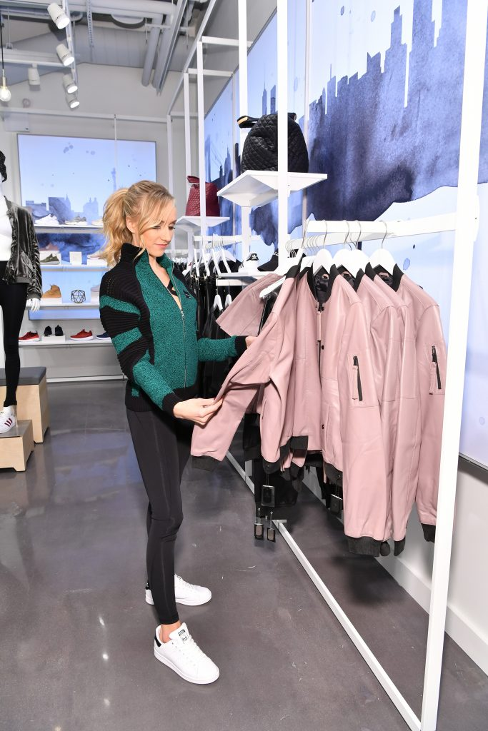 NEW YORK, NY - FEBRUARY 03: Foot Locker, Inc. celebrates its grand opening with Olympic gymnast Nastia Liukin in Times Square on February 3, 2017 in New York City. (Photo by Slaven Vlasic/Getty Images for Foot Locker, Inc. )