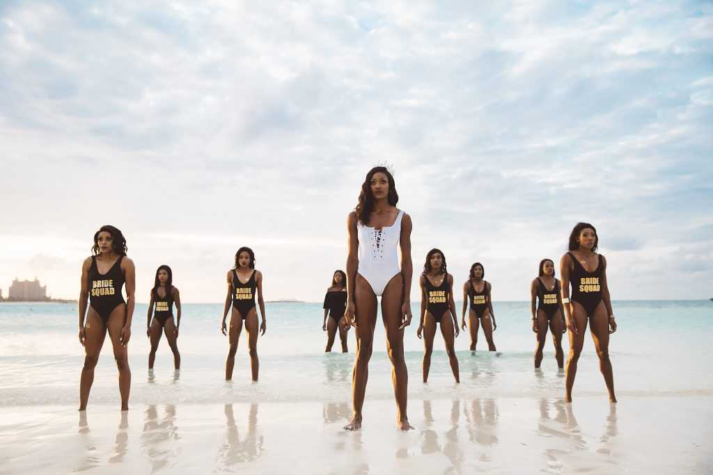 olympic gold medalist shaunae miller stages empowering swimsuit shoot