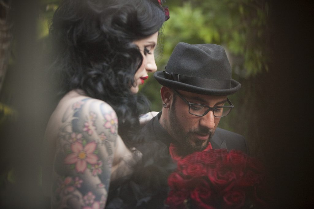 AJ McLean wedding. (Simone & Martin Photography)