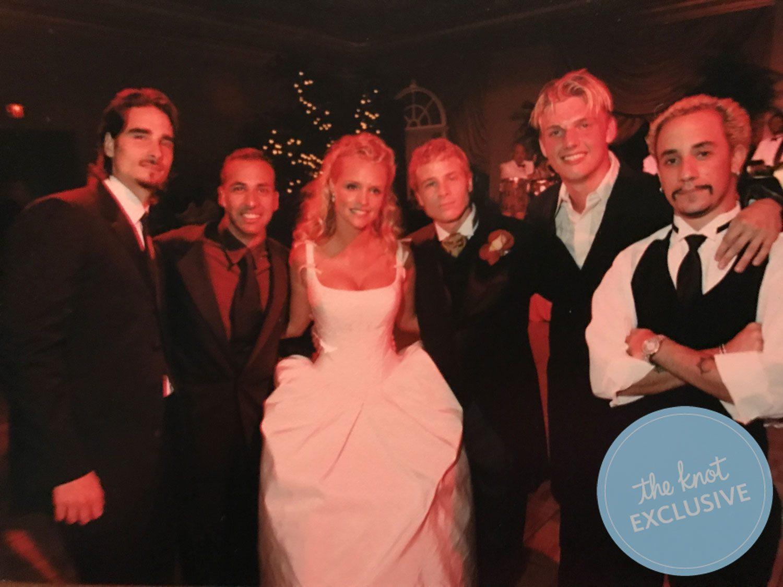 Backstreet boys look back on favorite wedding moments exclusive brian littrell wedding m4hsunfo