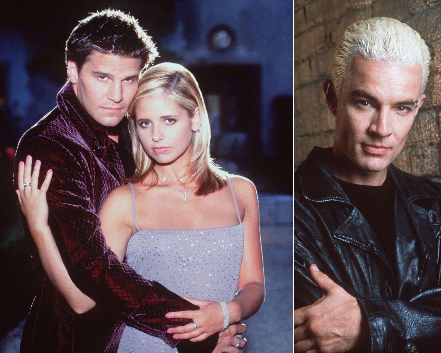 Buffy, Angel and Spike