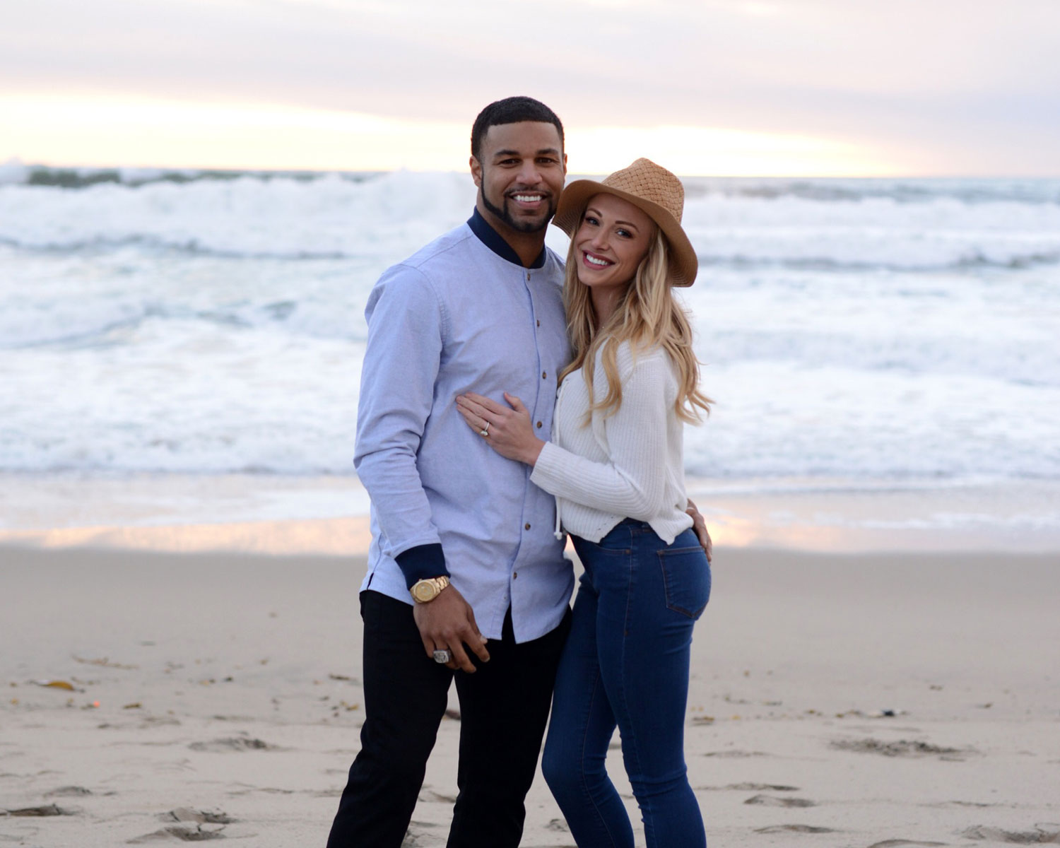 golden tate marries elise pollard in mexico wedding exclusive