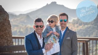 David Tutera and Joey Toth Rehearsal Dinner, March 30, 2017, Cielo Farms, Malibu. (Credit: Charles and Jennifer Maring / Maring Visuals)
