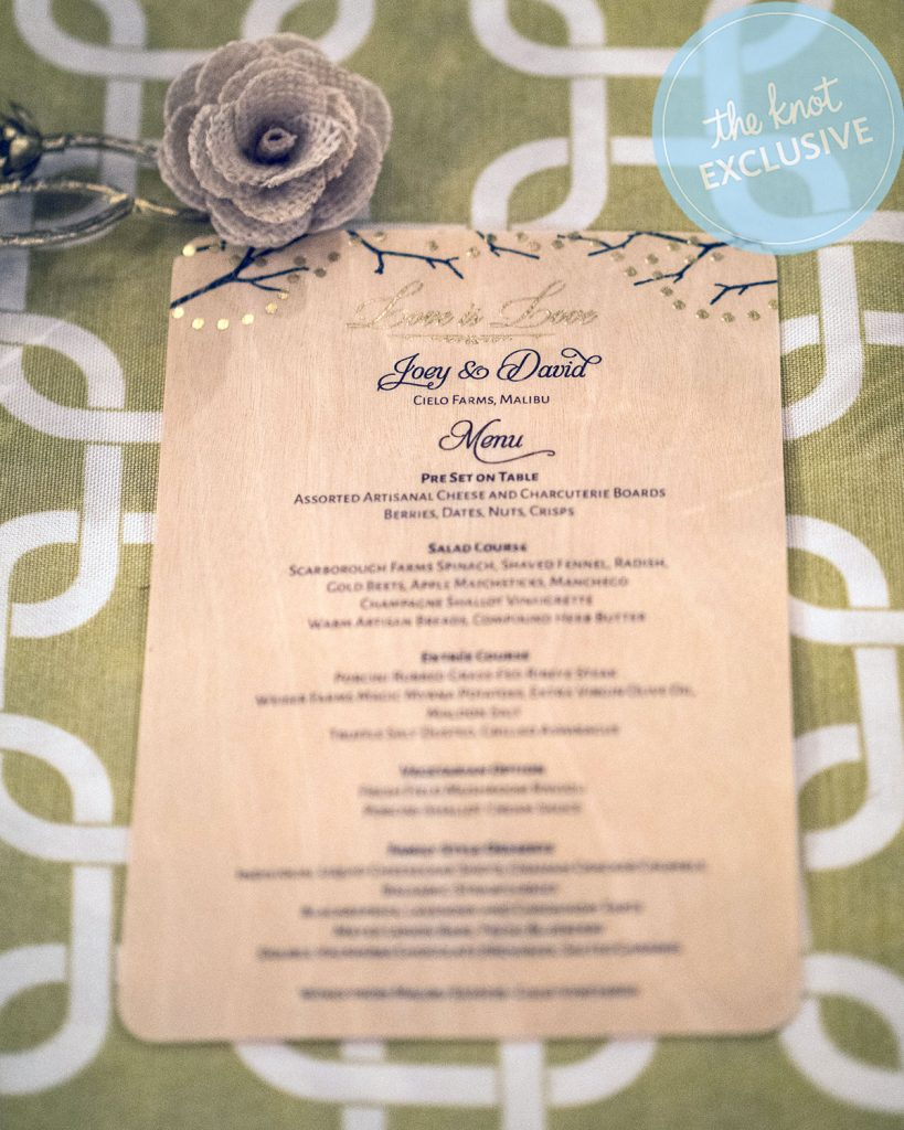 David Tutera And Joey Toth Rehearsal Dinner March 30 2017 Cielo Farms