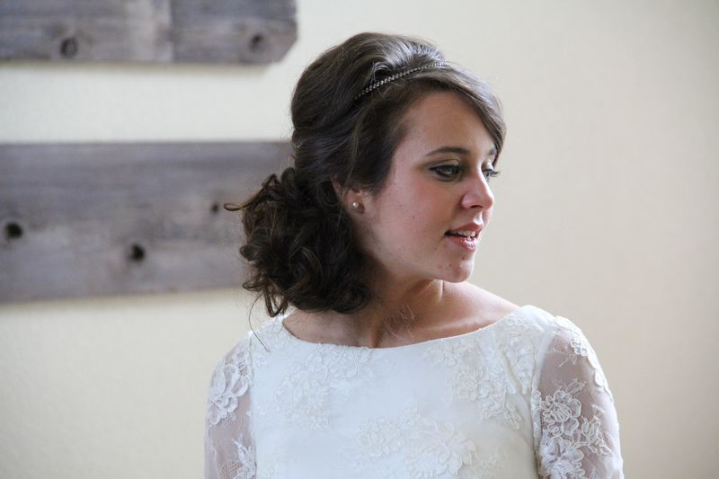 Counting On Jinger Duggar wedding designer