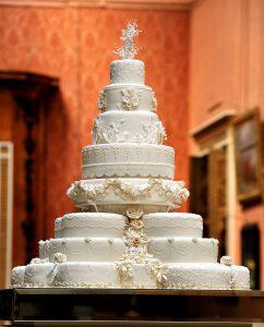 Kate Middleton Prince William wedding cake
