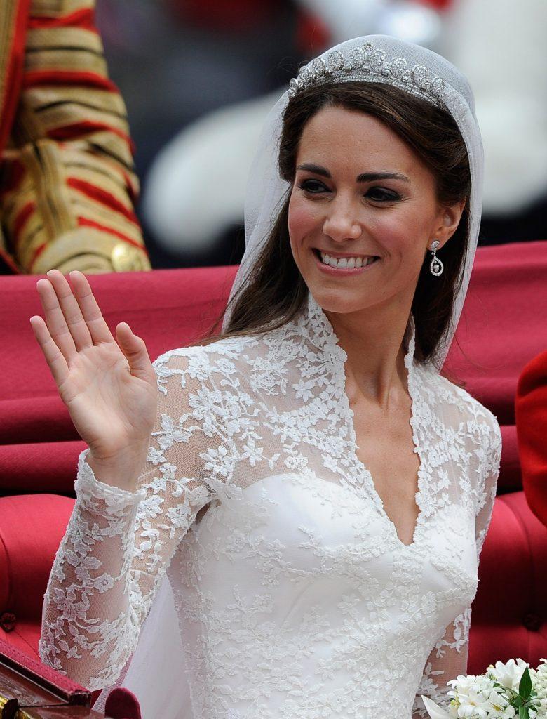 Kate Middleton wedding bridal beauty