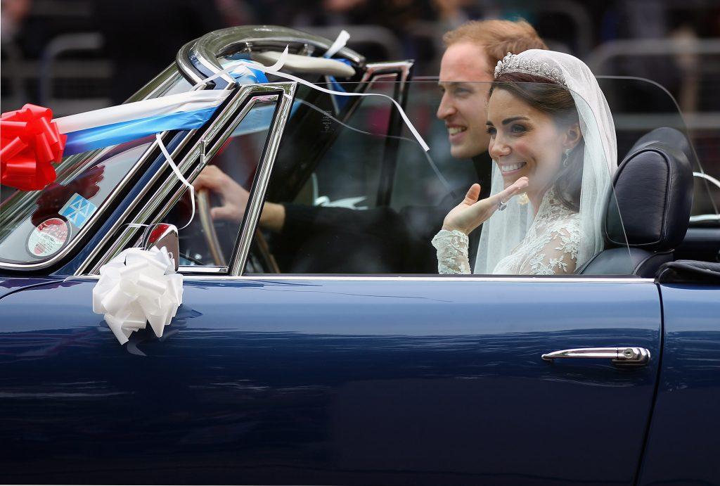 Prince William Kate Middleton wedding car