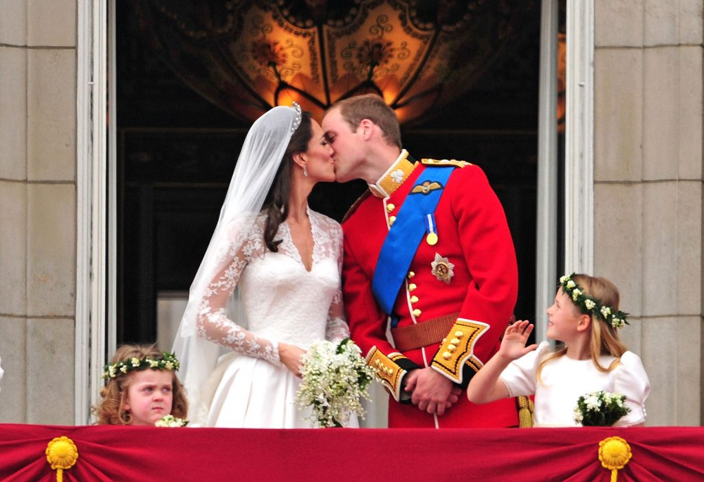 Kate Middleton Prince William wedding day