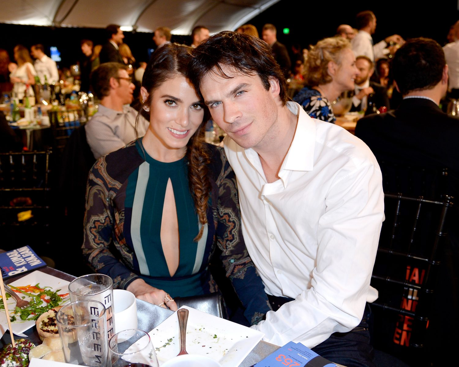 Nikki reed and ian somerhalder celebrate 2nd wedding anniversary nikki reed ian somerhalder junglespirit Images
