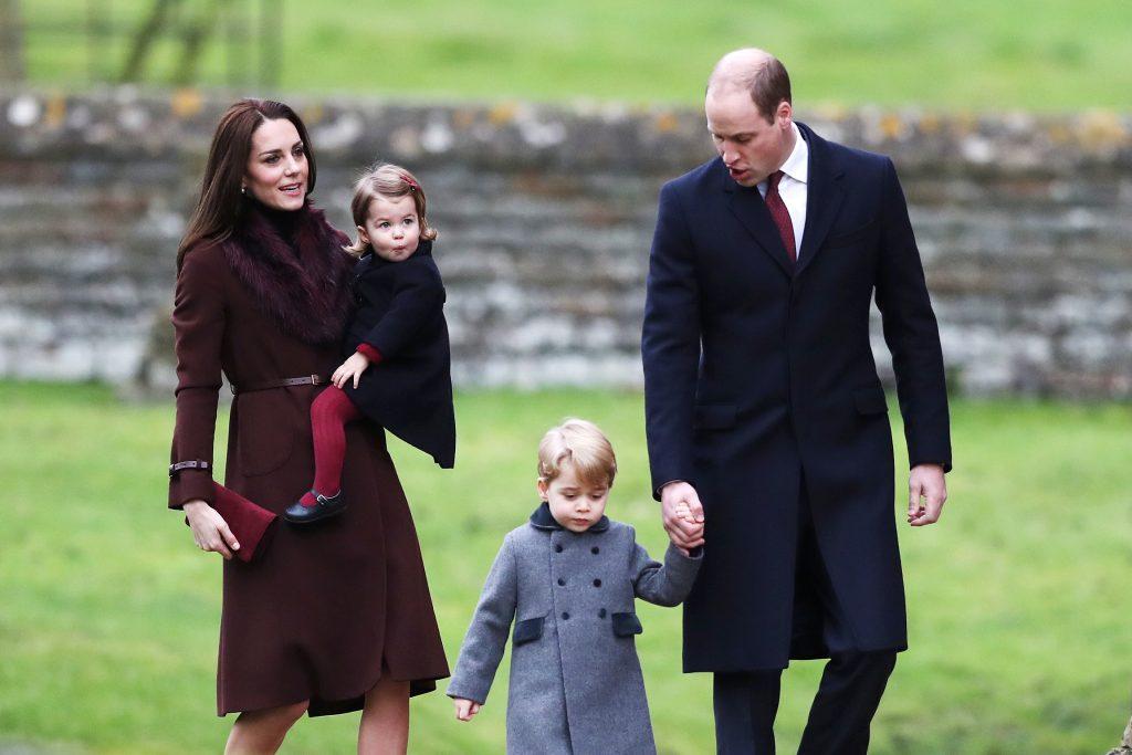 Prince George Princess Charlotte Kate Middleton William