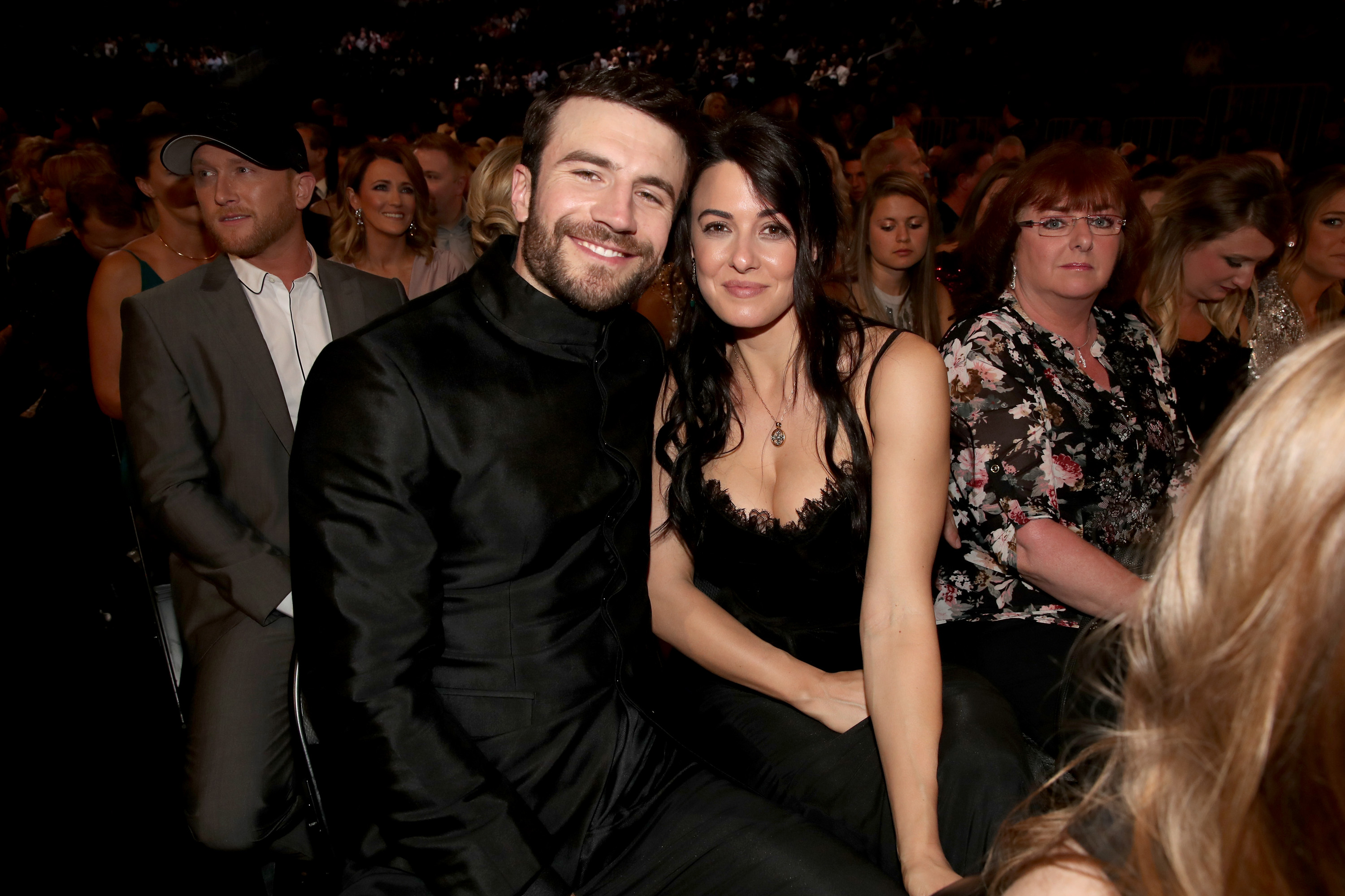 Sam Hunt Wears An Engagement Ring Too