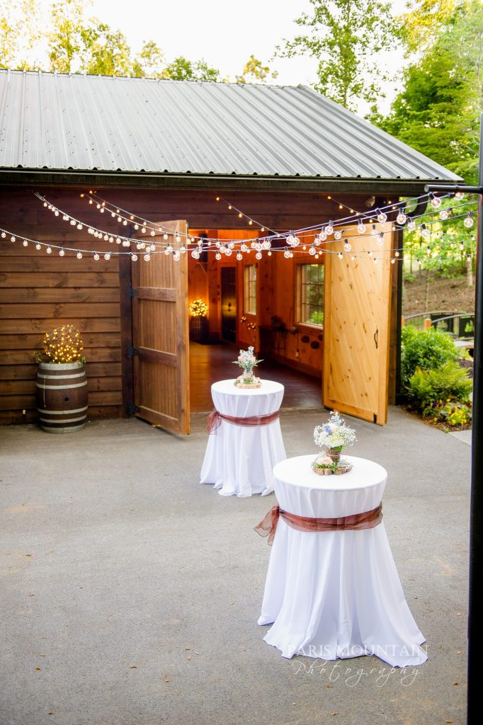 Sam Hunt's wedding reception venue was a place titled In The Woods in Rockmart, Georgia. (Photo courtesy of Paris Mountain Photography)