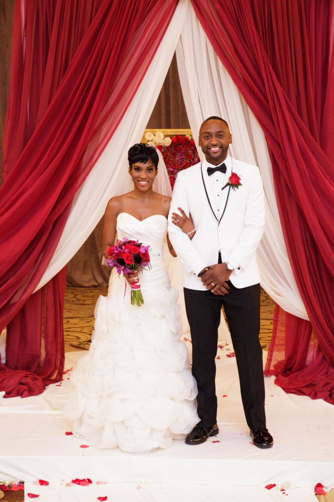 Married at First Sight Season 5 premiere. Nate Duhon and Sheila Downs. (Credit: A&E Networks)
