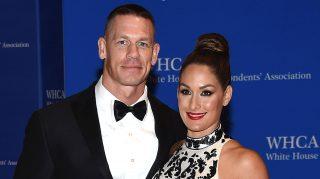 Nikki Bella John Cena ring