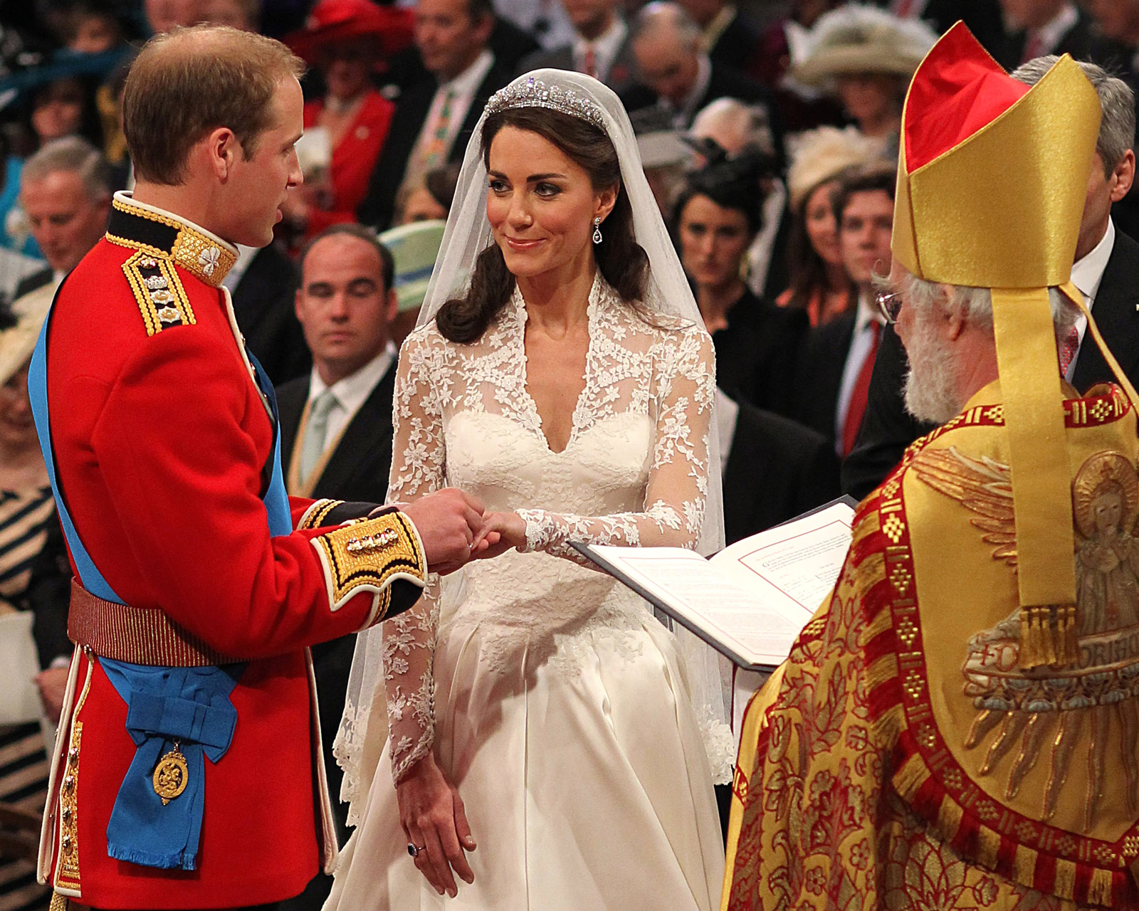 will and kate archbishop of canterbury