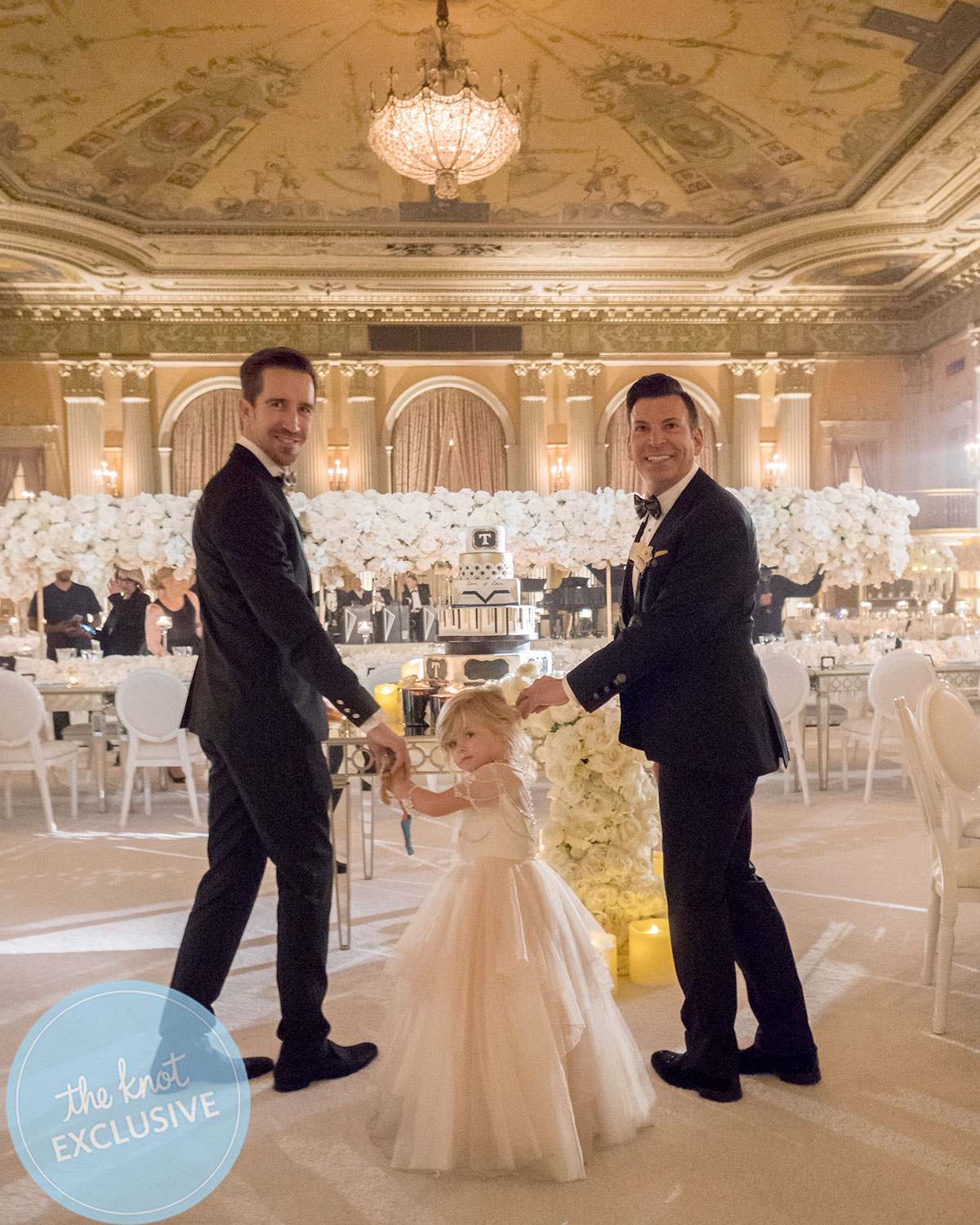 David Tutera And Joey Toth S Lavish Black Tie Wedding