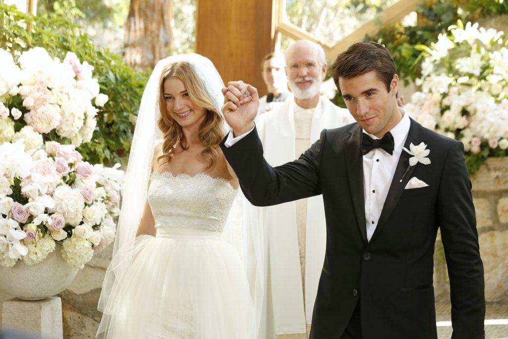 Emily VanCamp and Josh Bowman's 'Revenge' Wedding: Photos