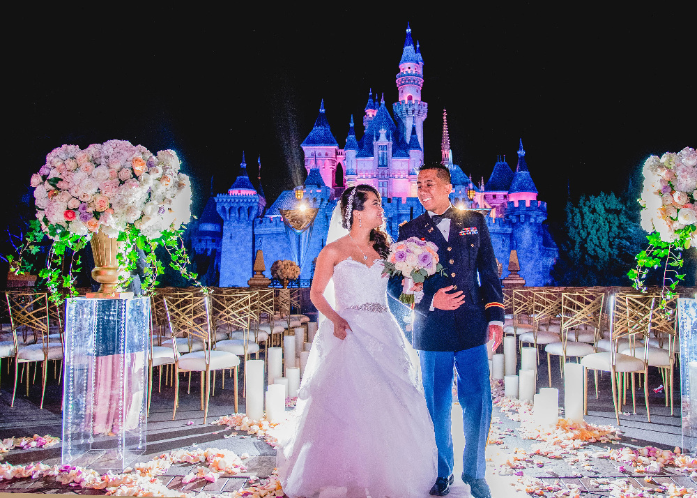 """FREEFORM SPECIALS - """"Disney Fairytale Weddings Special"""" - Bachelor alumni Ben Higgins and Lauren Bushnell take you behind the scenes of some truly fabulous weddings in FreeformÕs ÒDisneyÕs Fairy Tale WeddingsÓ special, airing on SUNDAY, MAY 7, at 8:00 Ð 9:30 p.m. EDT. (Freeform) RUBY CARPO, ERIC CARPO"""