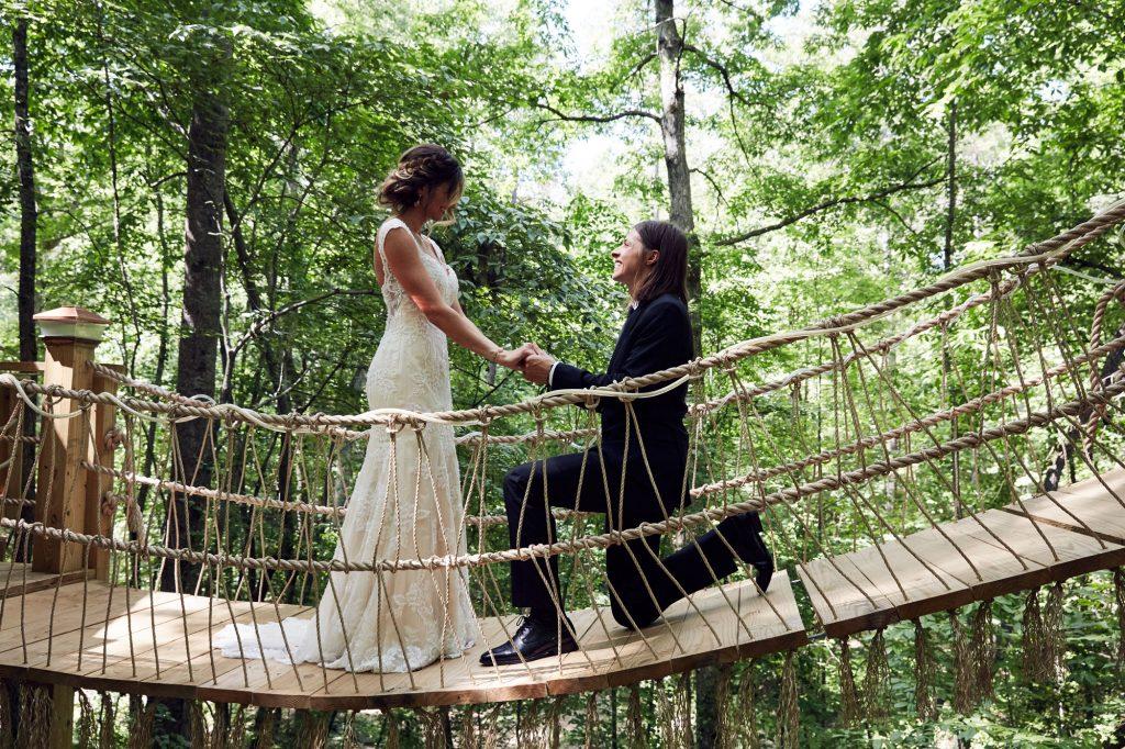 Tori and Seth Bolt wedding. (Photo credit: Sully Sullivan)