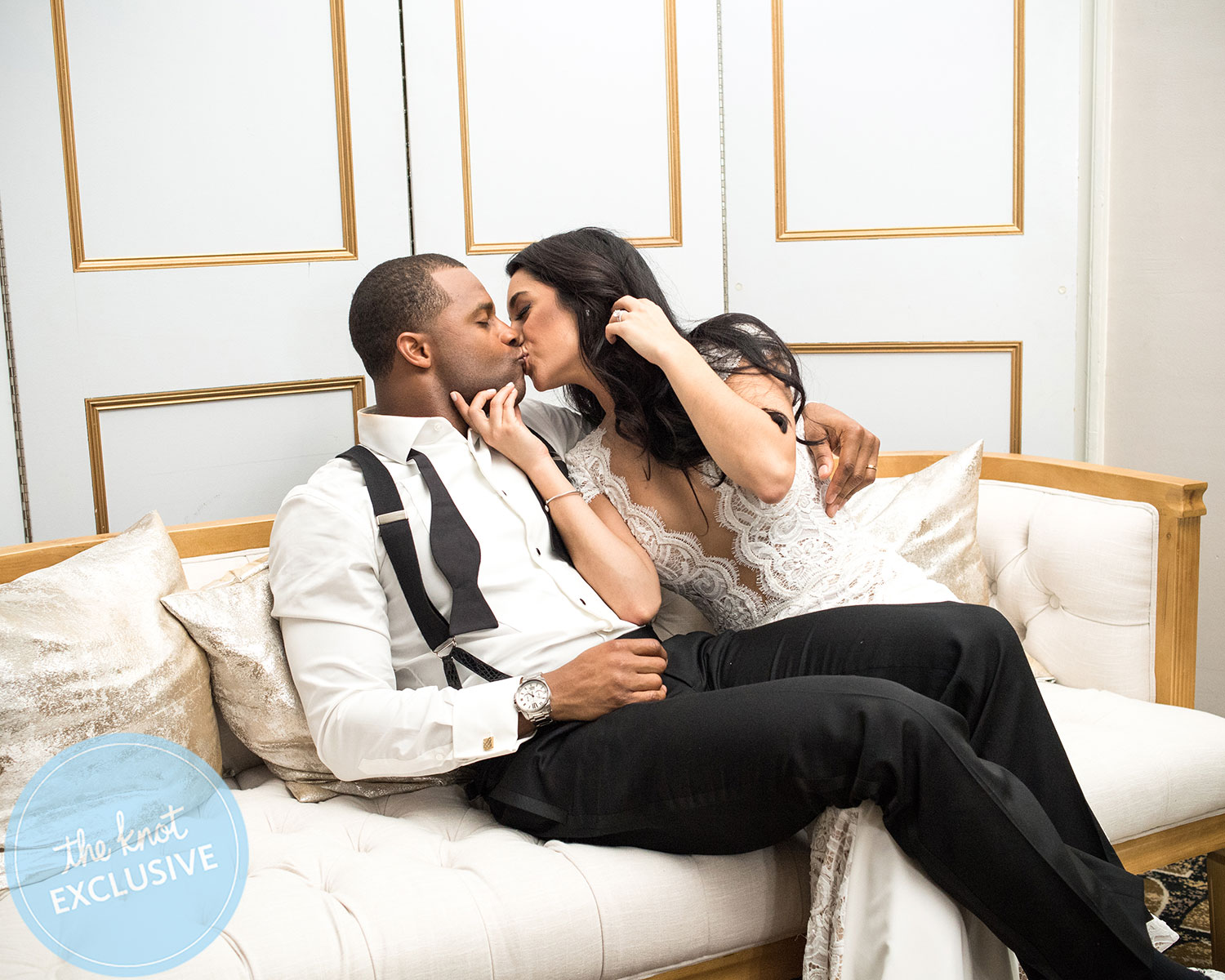 Randall And Aiyda Cobbs Packers Studded Black Tie Wedding Album Exclusive