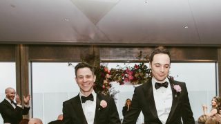 Jim Parsons wedding