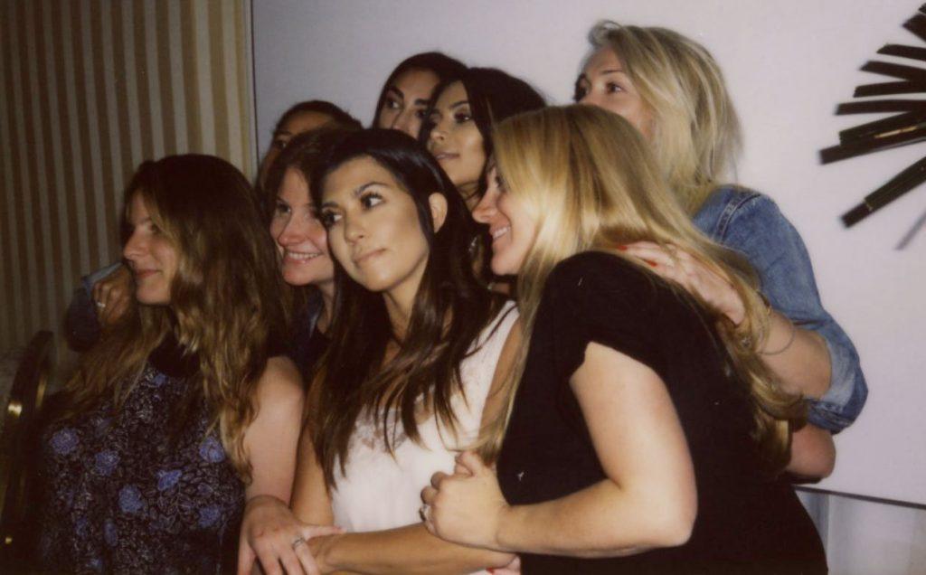 Kim Kardashian's bridal shower at the Peninsula Hotel in Beverly Hills. (Credit: kimkardashianwest.com)