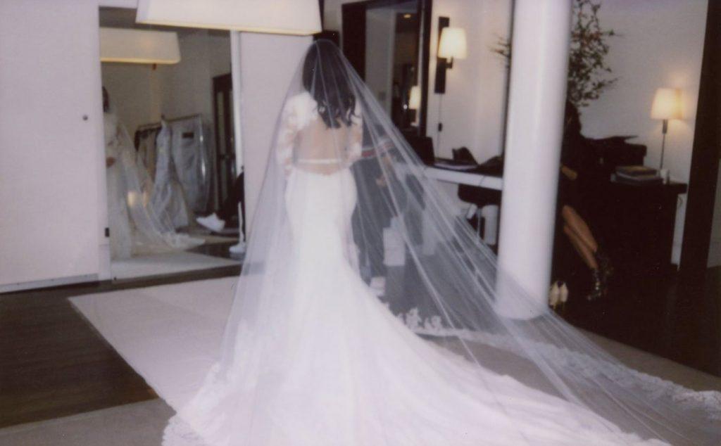 Kim Kardashian Kanye West Wedding (Photo credit: kimkardashianwest.com)