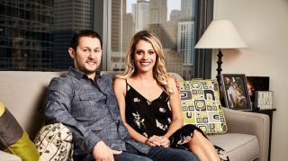 """Married at First Sight's Anthony D'Amico says it was """"love"""" at first sight on his wedding day (Credit: Lifetime)"""