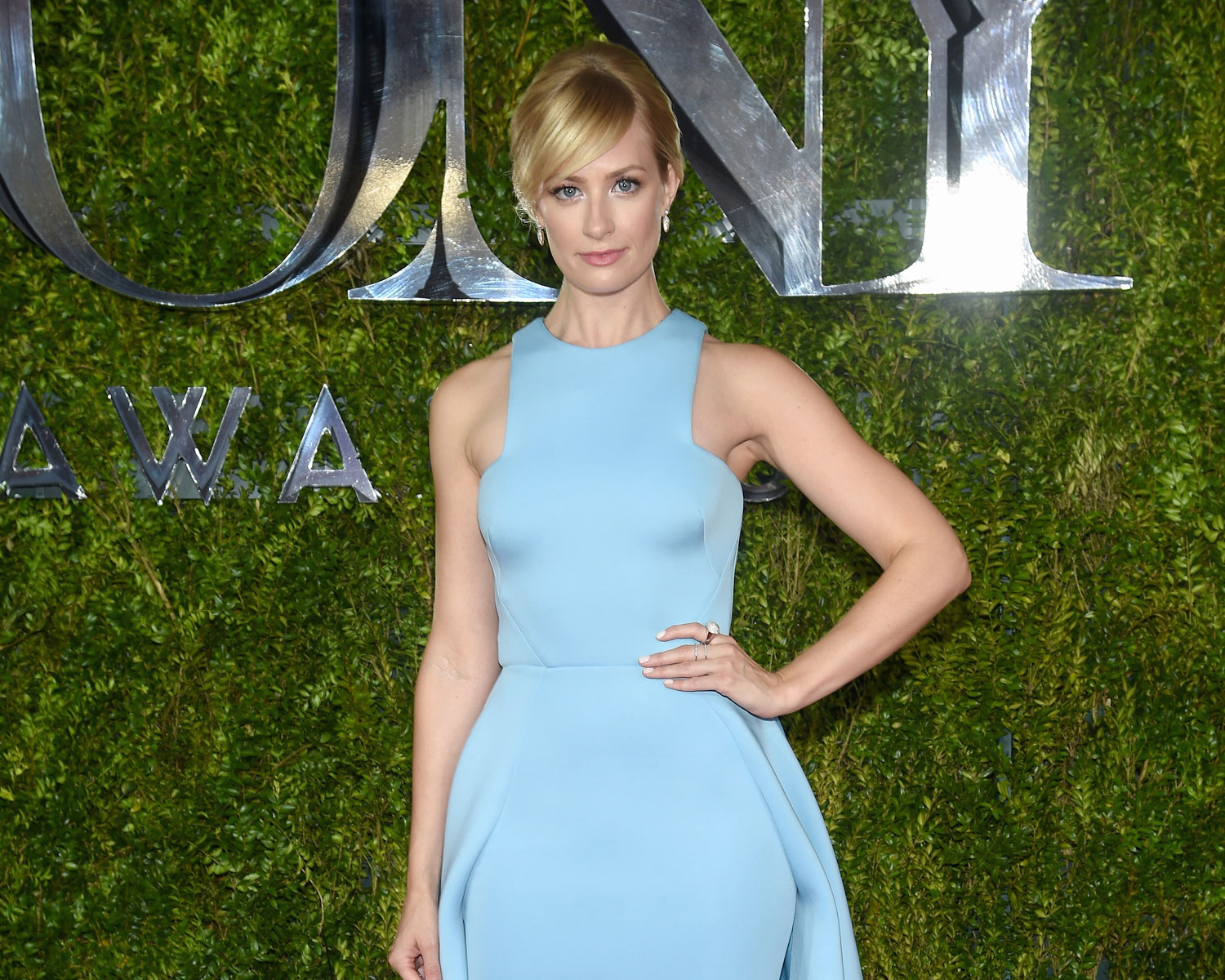 Beth Behrs wedding planning