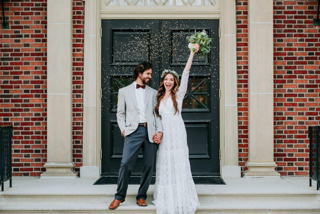 'This Is Us'-inspired wedding shoot. (Credit: Karen Rainier Photography)