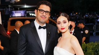 Sam Esmail Emmy Rossum wedding