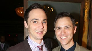 Jim Parsons honeymoon