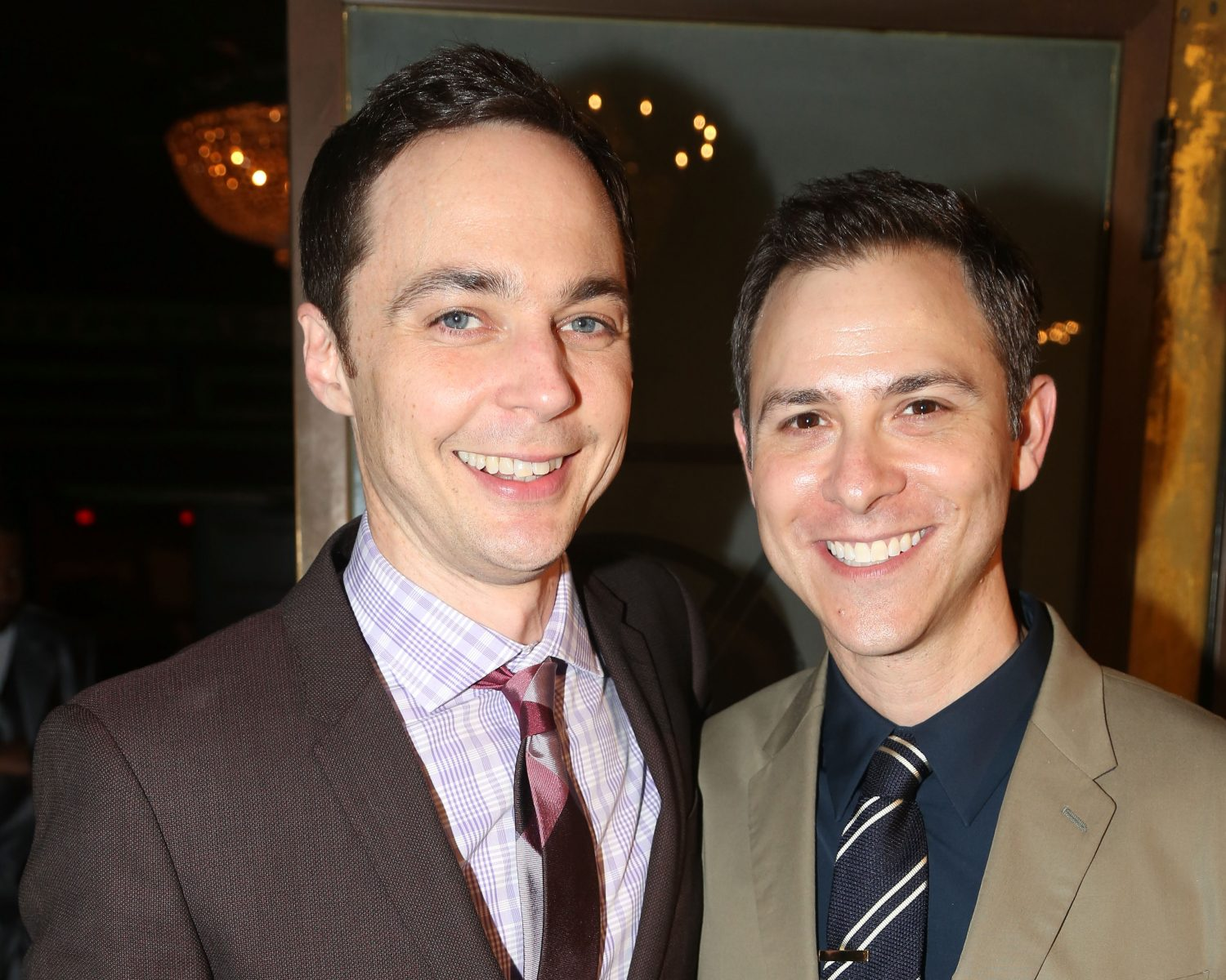 Big Bang Theory's Jim Parsons Marries Todd Spiewak: First ...