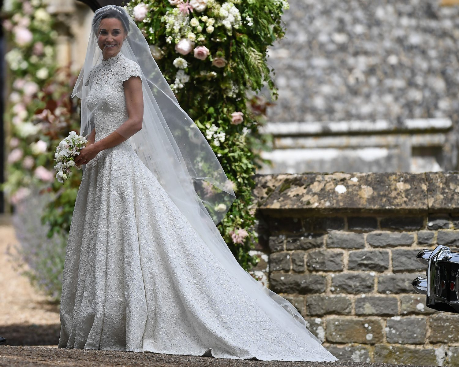 Pippa Middletons Wedding Dress Designer Shares Details Photos