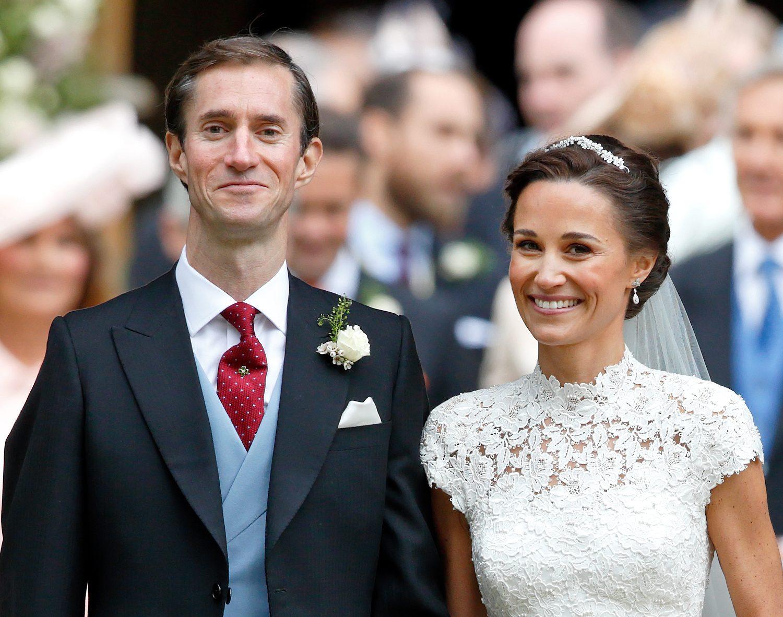 Pippa Middleton Something Old Wedding Earrings