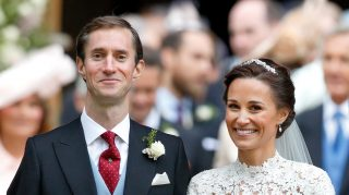 Pippa Middleton something old wedding earrings