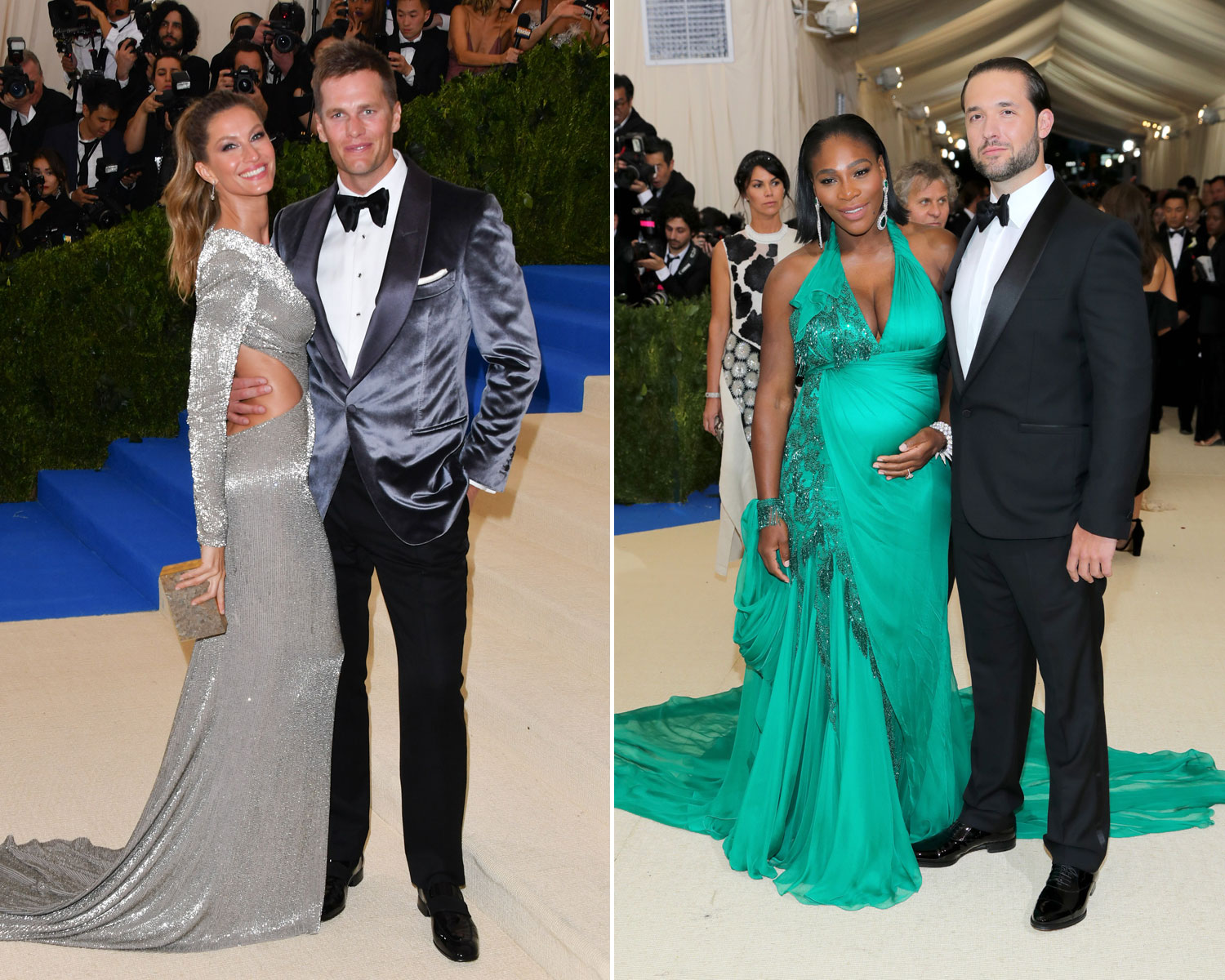 Gisele Tom Brady Serena Williams Alexis Met Gala